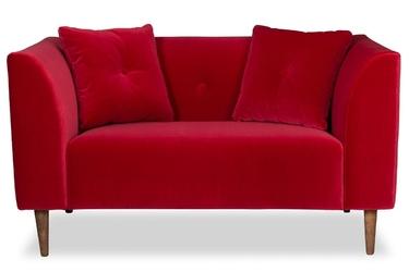 Sofa ginster welurowa welur bawełna 100 czerwony
