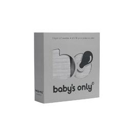 Babys Only, Otulacze bambusowe, silvergrey, 60x70cm, 2 szt.