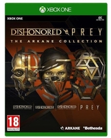 Cenega gra xone dishonored and prey the arkane collection