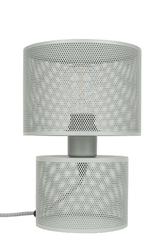 Zuiver lampa stołowa grid szara 5200034
