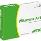 Apteo witamina a+e 750 µg+20mg x 30 kapsułek