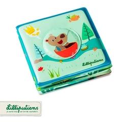 Lilliputiens magiczna książeczka do kąpieli niedźwiadek cesar 12 m+