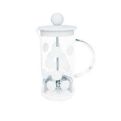 Zaparzacz tłokowy do kawy 0,35 l biały zak designs