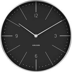 Zegar ścienny Normann 27,5 cm czarny