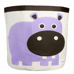 Pojemnik do przechowywania 3 sprouts hipopotam