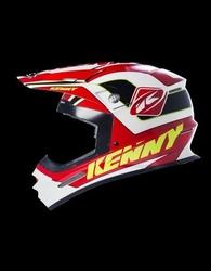 Kenny kask track blackred
