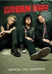 Green Day - Kalendarz 2012 r.
