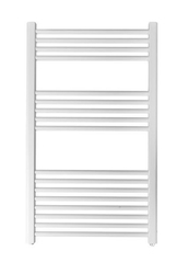 Grzejnik łazienkowy york - wykończenie proste, 600x1000, białyral