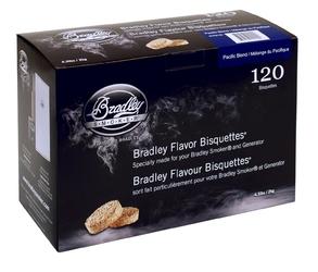 Bradley bisquettes - pacific blend - opakowanie 120 sztuk --- oficjalny sklep bradley
