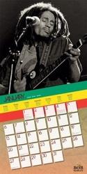 Bob marley - oficjalny kalendarz 2013 r.