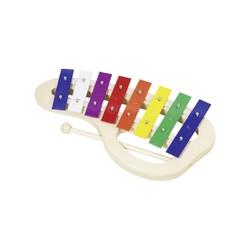 Kolorowy 8-tonowy ksylofon z uchwytem
