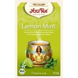 Herbata limetka i mięta, 17 torebek organicznych  yogi tea - herbata chłodząca