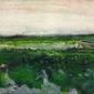 Vincent van gogh, landscape with wheelbarrow - plakat wymiar do wyboru: 30x40 cm