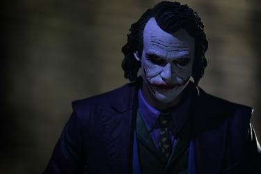 Batman - joker ver2 - plakat wymiar do wyboru: 60x40 cm