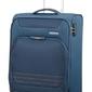 Walizka american tourister bombay beach 55cm niebieska - spring blue