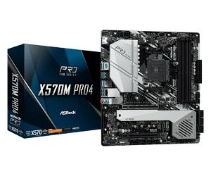 ASRock Płyta główna X570M Pro4 4DDR4 HDMIDPUSB M.2 U-ATX