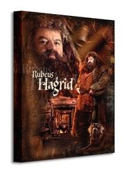 Harry potter hagrid - obraz na płótnie