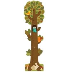 Miarka wzrostu petit collage - drzewko