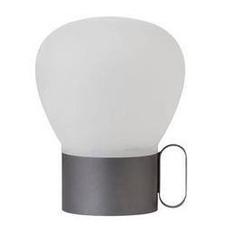 Design for the people :: lampa stołowa nuru szara wys. 20 cm
