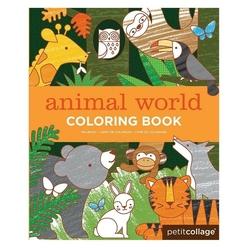 Kolorowanka petit collage - świat zwierząt