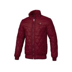 Kurtka zimowa pit bull west coast quilted jacket sunset burgundy - burgundy