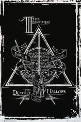 Harry potter insygnia śmierci - grafika - plakat