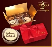Czekoladki czekoladki cudownej kobiecie