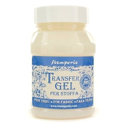 Preparat do transferu Transfer Gel do tkanin 100 ml Stamperia