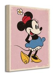 Minnie mouse retro - obraz na płótnie