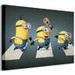 Minions Abbey Road - Obraz na płótnie