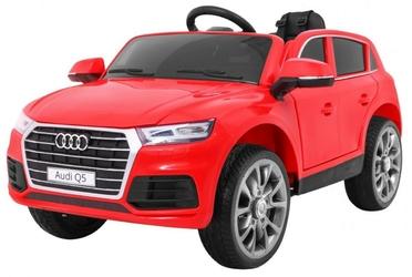Audi q5 new czerwony samochód na akumulator
