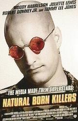 Natural born killers - plakat kinowy