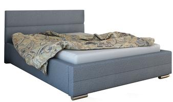 Łóżko tapicerowane Alicja z pojemnikiem