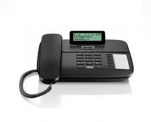 Siemens gigaset telefon da710 black