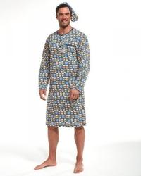 Koszula nocna męska cornette 110643301 dłr 3xl-5xl
