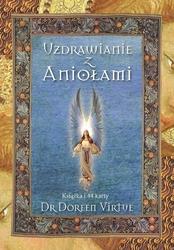 Karty uzdrawianie z aniołami doreen virtue karty + książeczka