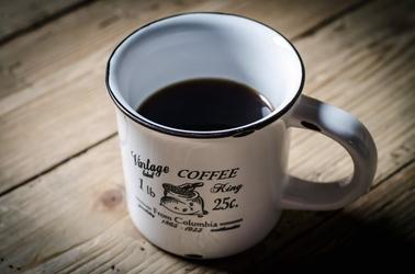 Fototapeta na ścianę kubek czarnej kawy fp 1162