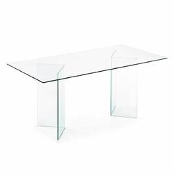 Stół HARLOW 180x90 kolor transparentny