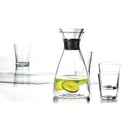 Eva solo - zestaw: karafka 1,0 l + 4 szklanki 250 ml