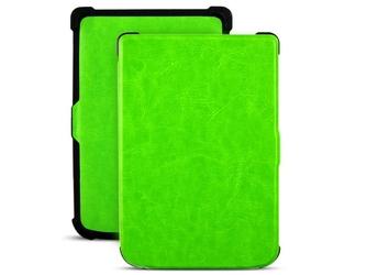 Etui alogy do pocketbook basic lux 2 616 touch lux 4 627 zielone - zielony
