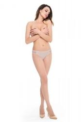 Julimex bikini panty beżowe figi