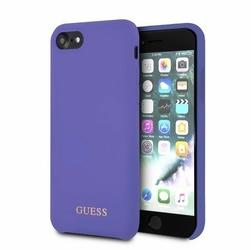 GUESS Etui hardcase GUHCI8LSGLUV iPhone 78 fioletowy Silicone