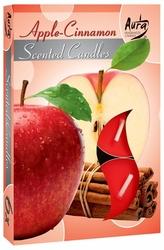 Bispol, Jabłko-Cynamon, podgrzewacze zapachowe, 6 sztuk