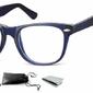 Oprawki zerówki korekcyjne nerdy flex sunoptic ac15d niebieskie
