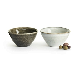 Sagaform - nature - zestaw 2 miseczek, 14 cm - 14,00 cm