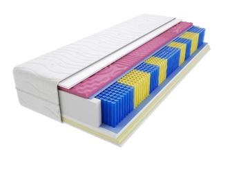 Materac kieszeniowy kolonia molet multipocket 125x215 cm średnio twardy visco memory dwustronny