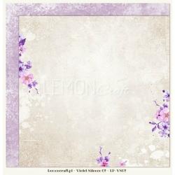 Papier do scrapbookingu Violet Silence 02 - 02