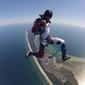 Skok ze spadochronem dla dwojga - hel półwysep helski