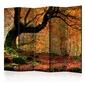 Parawan 5-częściowy - jesień, las i liście ii room dividers