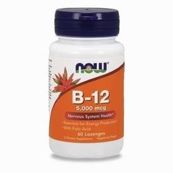 Now vitamin b-12 5000mcg - 60lozenges